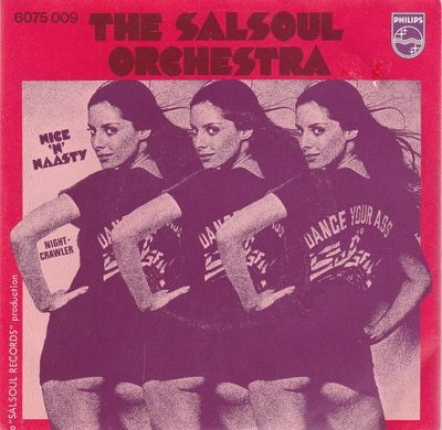 The Salsoul Orchestra - Nice 'N' Naasty + Nightcrawler (Vinylsingle)