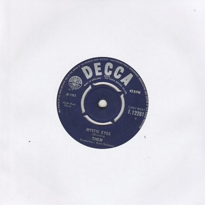 Them - Mystic eyes + If you and I could be as two (Vinylsingle)