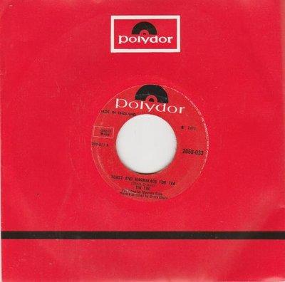 Tin Tin - Toast and marmalade for tea + Manhatten woman (Vinylsingle)