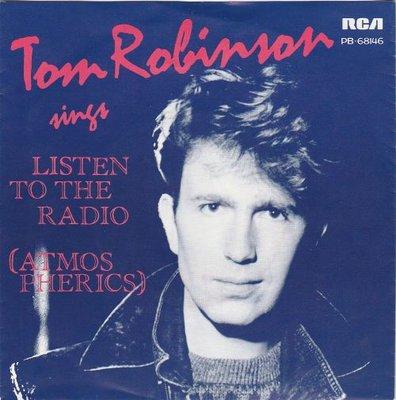 Tom Robinson - Listen to the radio + Any favours (Vinylsingle)