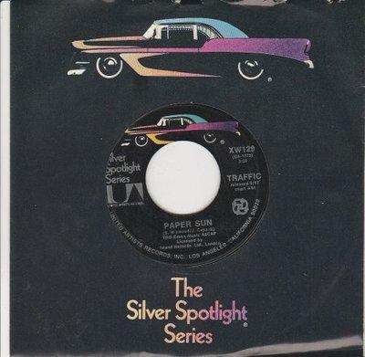 Traffic - Paper Sun + Empty Pages (Vinylsingle)