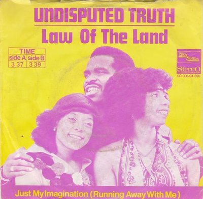 Undisputes Truth - Law of the land + Just my imagination (Vinylsingle)