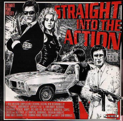 Various - Straight Into The Action (Vinyl LP)