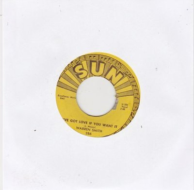 Warren Smith - I?ve Got Love If You Want It + I Fell In Love (Vinylsingle)