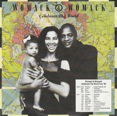 Womack & Womack - Celebrate the world + Friends (Vinylsingle)