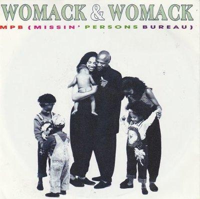 Womack & Womack - MPB (Missin' Persons Bureau) + (Original Version) (Vinylsingle)