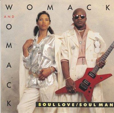 Womack & Womack - Soul Love/Soul Man + (Instrumental) (Vinylsingle)