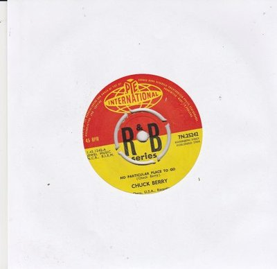 Chuck Berry - No particular place to go + Liverpool drive (Vinylsingle)