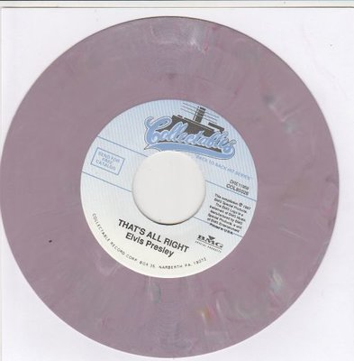 Elvis Presley - That's all right + Blue moon of Kentucky (Vinylsingle)