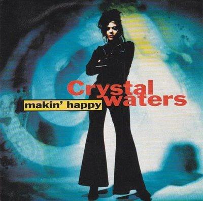 Crystal Waters - Makin' Happy + (Basment boys happy club mix) (Vinylsingle)