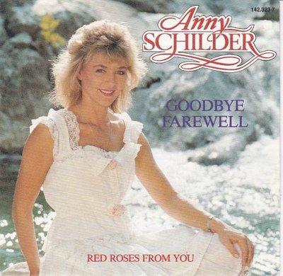 Anny Schilder - Goodbye farewell + Red roses from you (Vinylsingle)