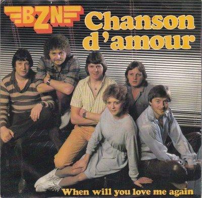 BZN - Chanson d'amour + When will you love me again (Vinylsingle)