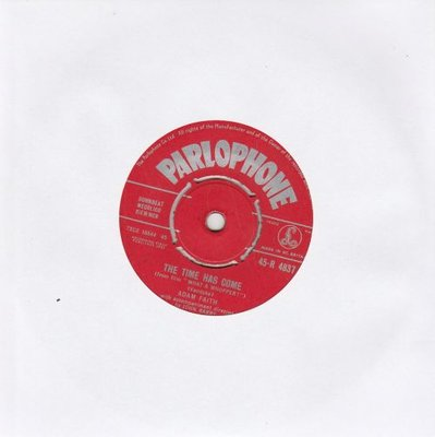 Adam Faith - The Time Has Come + A Help-Each-Other Romance (Vinylsingle)