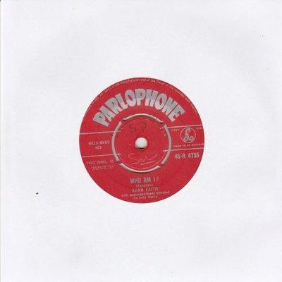 Adam Faith - Who Am I + This Is It (Vinylsingle)