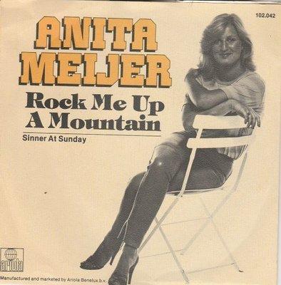 Anita Meyer - Rock me up a mountainj + Sinner at Sunday (Vinylsingle)