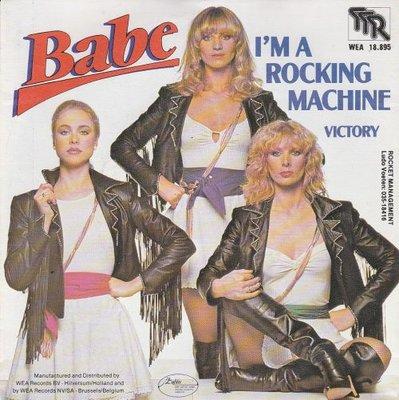Babe - I'm a rocking machine + Victory (Vinylsingle)