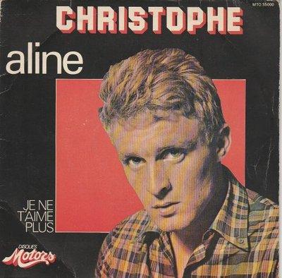 Christophe - Aline + Je t'aime plus (Vinylsingle)