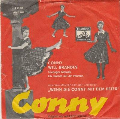 "Conny Froboess - Teenager-Melody + Ich M""chte Mit Dir Tr""umen (Vinylsingle)"