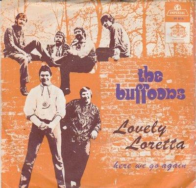 Buffoons - Lovely Rita + Here we go again (Vinylsingle)