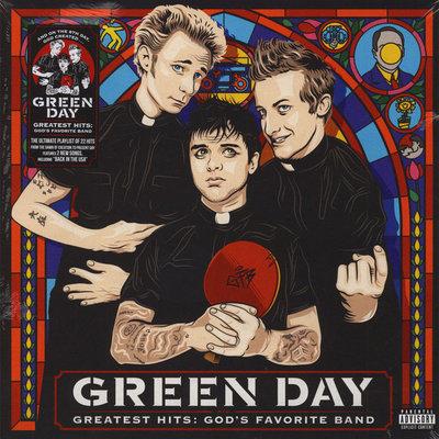 GREEN DAY - GREATEST HITS: GOD'S FAVORITE BAND (Vinyl LP)
