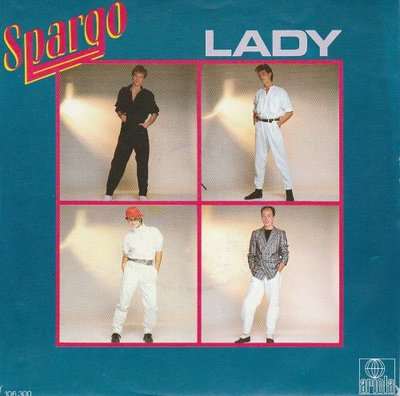 Spargo - Lady + (instr.) (Vinylsingle)