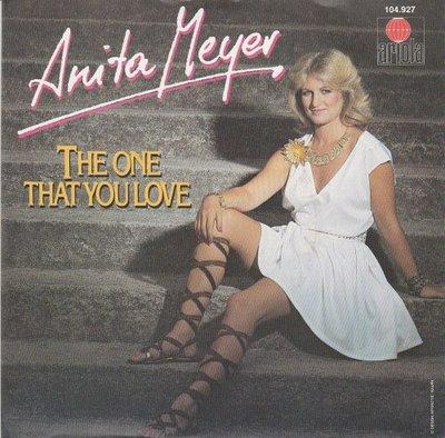 Anita Meyer - The one you love + Restless (Vinylsingle)
