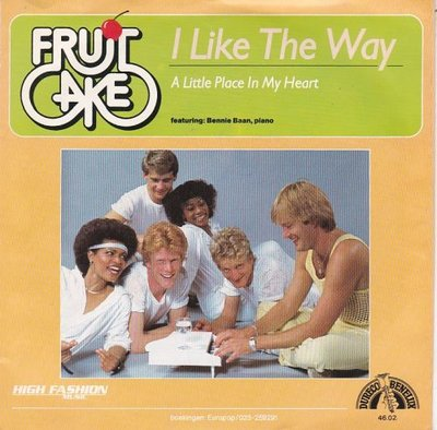 Fruit Cake - I like the way + A little place in my heart (Vinylsingle)