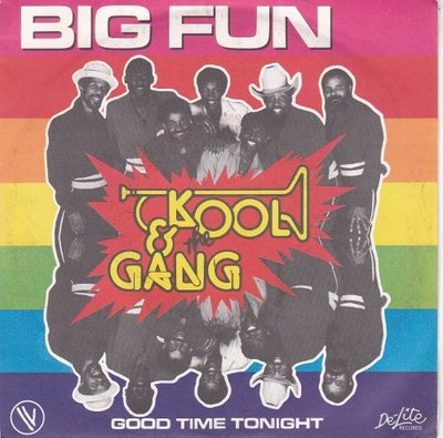 Kool & the Gang - Big Fun + Good time tonight (Vinylsingle)