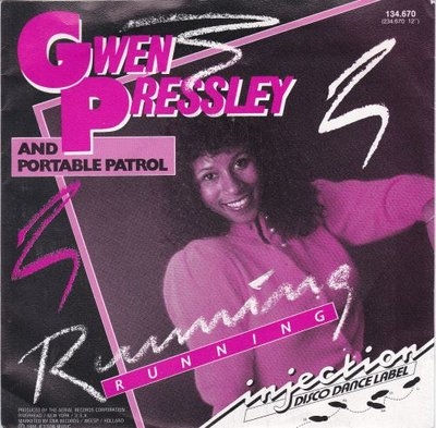 Gwen Pressley - Running + (dub version) (Vinylsingle)
