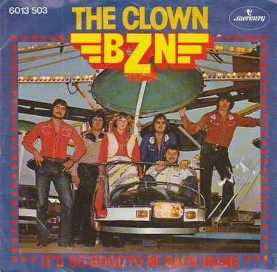 BZN - The Clown + It's so good to be back home (Vinylsingle)