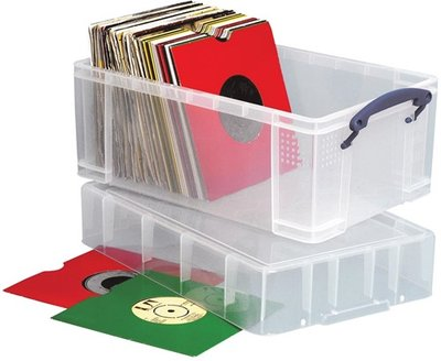 Really Usefull Box 9 liter (voor 125 vinylsingles) - per stuk