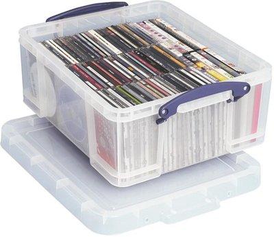Really Usefull Box 18 liter (voor 93 CD's of 44 DVD's) - per stuk