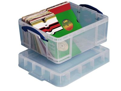 Really Usefull Box 18 liter (voor 250 vinylsingles) - per stuk