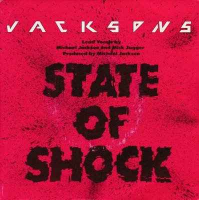 Jacksons - State of shock + Your ways (Vinylsingle)