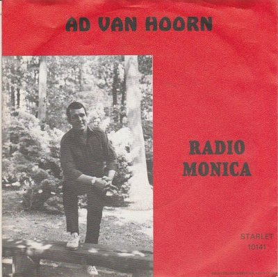 Ad van Hoorn - Radio Jamaica + Piraten Oma (Vinylsingle)