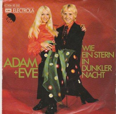Adam & Eve - Wie ein stern in dunkler nacht + Chiri-biri-bim (Vinylsingle)