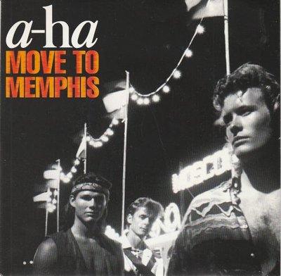 Aha - Move to Memphis + Crying in the rain (Vinylsingle)