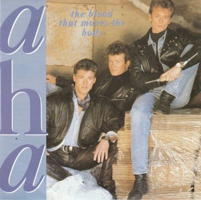 Aha - The blood that moves the body + There's never (Vinylsingle)