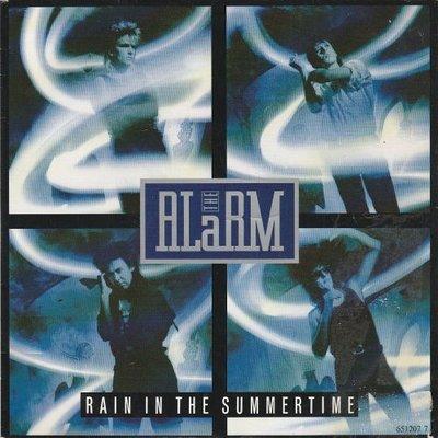 Alarm - Rain in the summertime + Rose beyond the wall (Vinylsingle)
