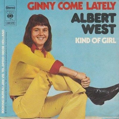 Albert West   - Ginny come lately + Kind of girl (Vinylsingle)