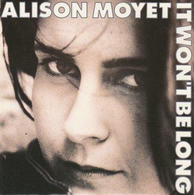 Alison Moyet - It won't belong + My right A.R.M. (Vinylsingle)