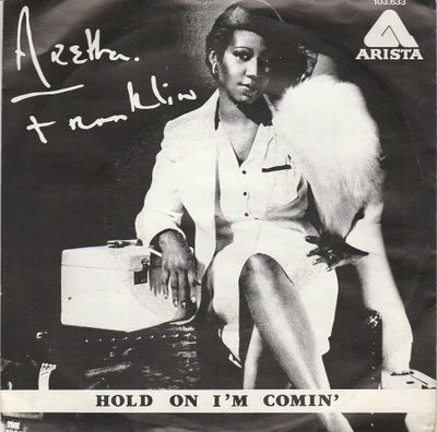 Aretha Franklin - Hold on I'm coming + Whole lot of me (Vinylsingle)