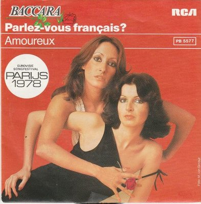 Baccara - Parlez-vous francais? (English) + Amoureux (english) (Vinylsingle)