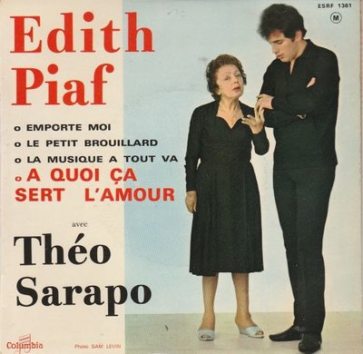 Edith Piaf - A quoi ca sert l'amour (EP) (Vinylsingle)