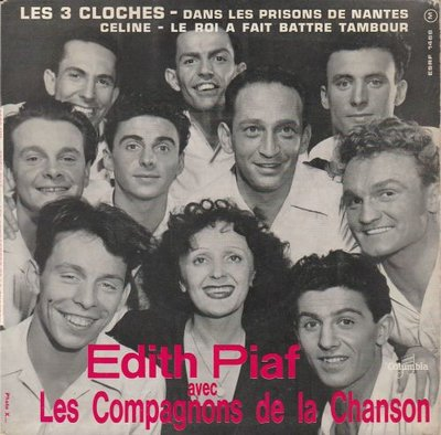 Edith Piaf - Les trois Cloches (EP) (Vinylsingle)