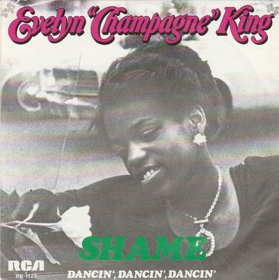 Evelyn Champagne King - Shame + Dancin' dancin' dancin' (Vinylsingle)