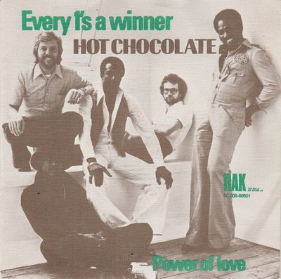 Hot Chocolate - Every 1's A Winner (Groove Mix) + So You Win Again (Vinylsingle)