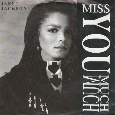 Janet Jackson - Miss you much + You need me (Vinylsingle)