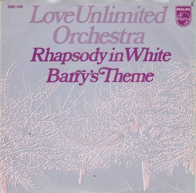 Love Unlimited - Rhapsody in white + Barry's theme (Vinylsingle)