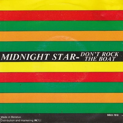 Midnight Star - Don't Rock The Boat + (Instrumental) (Vinylsingle)
